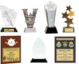 Custom Awards from Premium Awards and Recognition